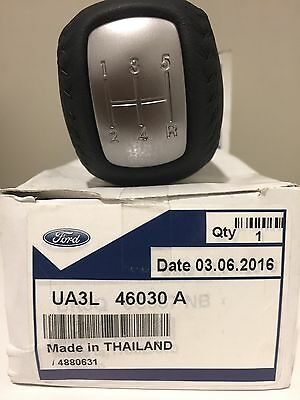 Genuine FORD Ranger PJ PK  Manual Leather Gear Knob suits 5SPD XL XLT WILDTRAK