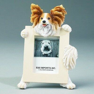 Papillon Frame Dog Picture Photo Frame