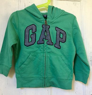 Baby Gap Zipped Front Hoodie Size 3