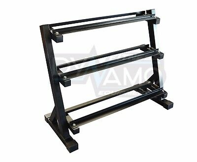 Dumbbell Rack 3-Tier For Dumbbells Home Gym Dumbbell Storage Rack Gym & Fitness