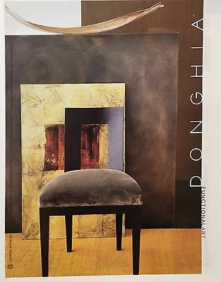 2001  DONGHIA FUNCTIONAL ART Home Decor  PRINT AD