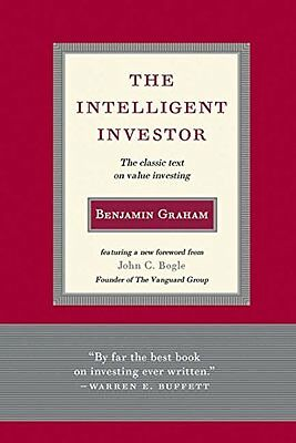 The Intelligent Investor: The Classic Text on Value Investing New Hardcover Book