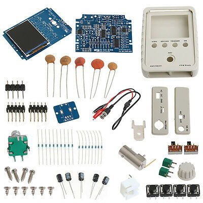 Mini AVR DSO150 Pocket Digital Oscilloscope Kit+USB Cable and DIY Probe Learning