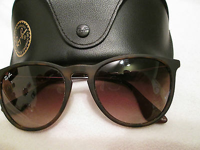 Ray Ban brown frame Erika sunglasses. RB4171. With case.