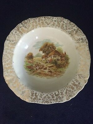 Vintage Alfred Meakin country farm scene small Dish. In great condition