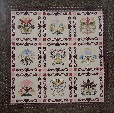 ADELAIDE FLORAL SAMPLER - applique QUILT PATTERN - Michele Hill