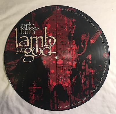"""Lamb Of God 12"""" Picture Vinyl As The Palaces Burn"""