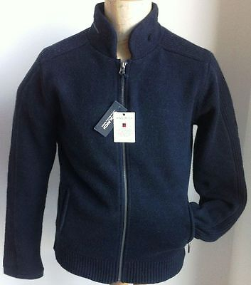 maglione giacca cardigan  WOOLRICH tg L nuovo lana felpa full zip casual