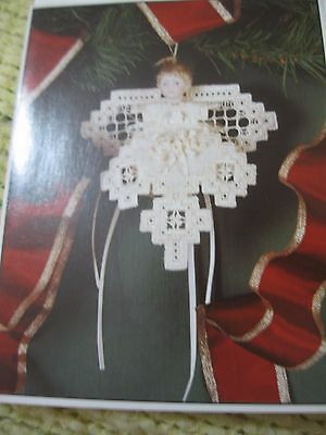 1995 Angel in Hardanger pattern