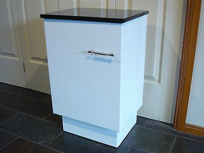 Free Standing 2 Shelf Cabinet With Marble Top