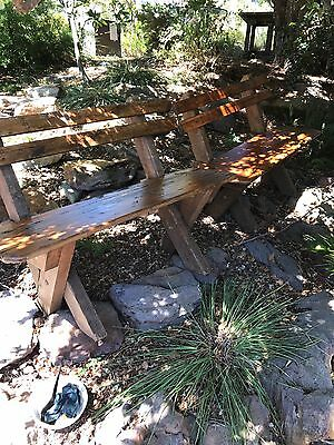 2 Outdoor/patio Bench Chair