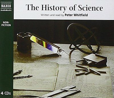 The History of Science New Audio CD Book Peter Whitfield
