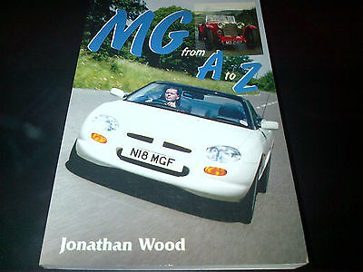 MG from A to Z Book Jonathan Wood