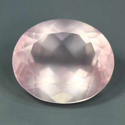 7.24 Cts_Unique Hi-End Very Rare Gemmy_100 % Natural Rose Quartz Faceted_Brazil