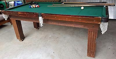 3/4 Pool Table with cover