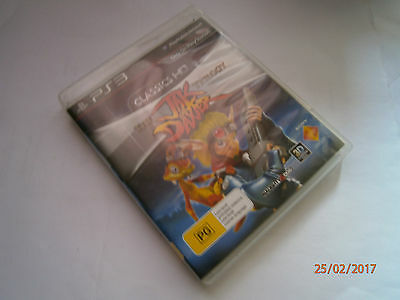 The Jak and Daxter Trilogy Sony PlayStation 3 PS3 Gaming with manual