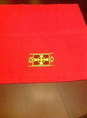 Red Chalice Veil Chasuble Vestment