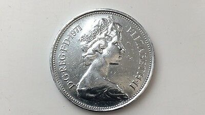 Silver 2p Coin  1971 NEW PENCE  *very rare*
