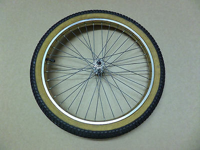 Vintage Raleigh Super Grifter Gold Front Wheel – Used