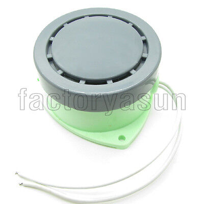 "75mm 2.95"" Round Panel Alarm Buzzer Continuous Sound 80dB AC220V DC24V HRB-N80"