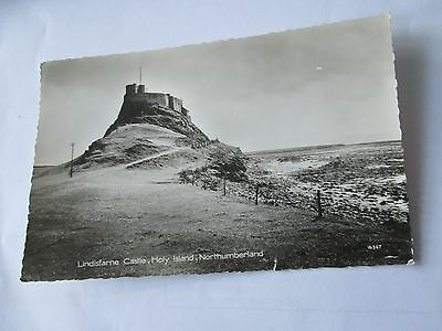 Postcard of Lindisfarne Castle, Holy Island, Northumberland 16367 (posted 1963)