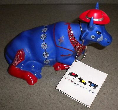 Cow Parade Even Cowgirls Get the Blues Porcelain Figurine