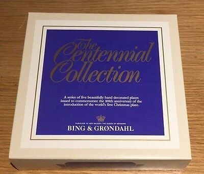 Bing & Grondahl Centennial Collection The Christmas Elf Plate BRAND NEW BOXED