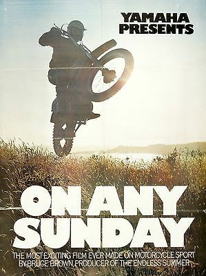 """On Any Sunday Steve Mcqueen 16"""" x 12"""" Reproduction Movie Poster Photograph no 3"""