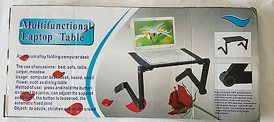 Tablet Laptop Table Desk Portable Bed Tray Book Stand Multifunctional Ergonomics