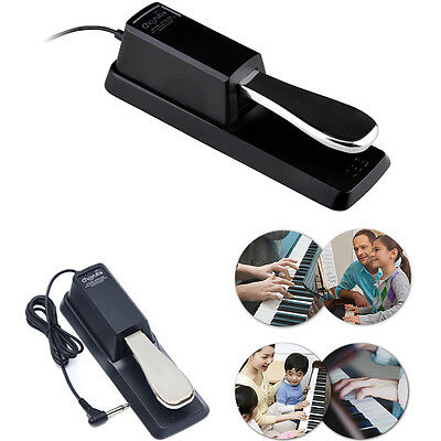 Piano Keyboard Sustain Pedal Pamper For Electronic Piano Yamaha Casio and More