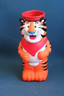 nice 3 plastic doll cups cup set Tony the Tiger kelloggs puzzle 1990's 2000's