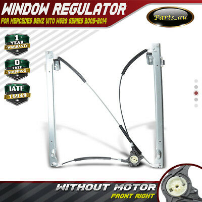 Window Regulator w/o Motor for Mercedes Benz Vito W639 2005-2014 Front Right