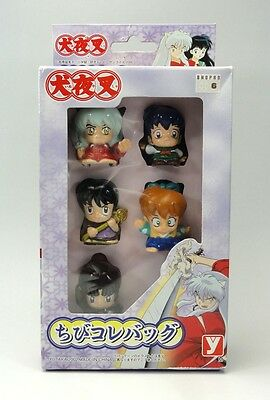 INUYASHA Finger Puppet Tibi Collection Bag Figure YUTAKA JAPAN