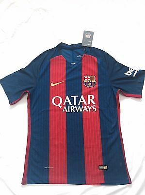 Barcelona Home Shirt 16/17 *NEW WITH TAGS*