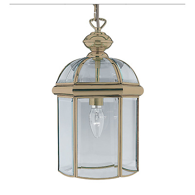 Classic Hanging Ceiling Lantern In Antique Brass Finish 7131AB