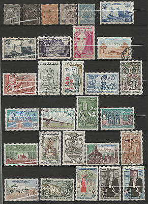 TUNISIE - petite colection 132 timbres - belle cote (5 scans)