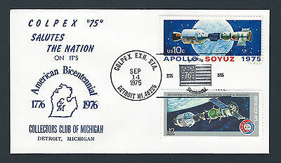 mjstampshobby 1975 US Colpex75 -ApolloSoyuz- Cover MNH RARE(Lot2024)