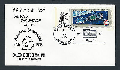 mjstampshobby 1975 US Colpex75 -ApolloSoyuz- Cover MNH RARE(Lot2023)