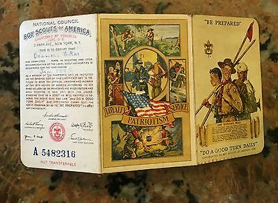 Boy Scouts Of America 1945 BSA REGISTRATION MEMBERSHIP CARD