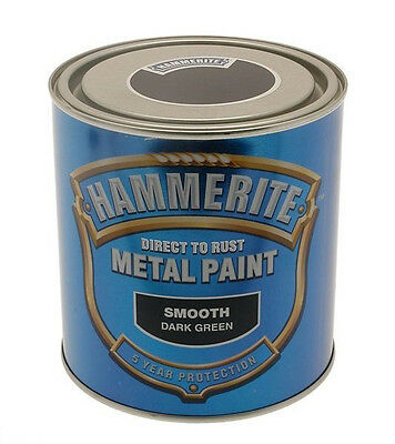 Hammerite Smooth Dark Green 5L Direct to Rust 5 litre