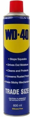 WD40 Lubricant Trade Spray Can 600ml