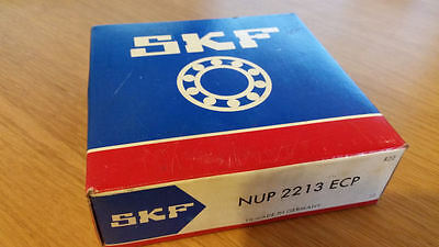 SKF NUP 2213 ECP Single Row Cylindrical Roller Bearing 65x120x31mm