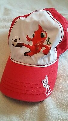 Liverpool fc toddler cap, mighty red lfc cap, red football hat