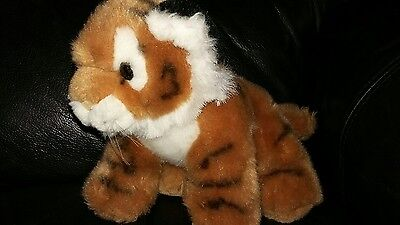 Tiger soft toy, tiger cub teddy