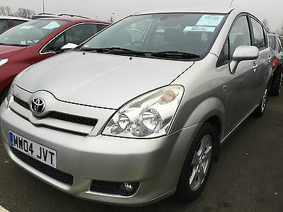 2004 Toyota Corolla Verso Vvt-I T3 1 F/owner, Leather, 7 Seats Only 58K Miles