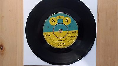 """Hurry Up/ The Maytals 1964 7"""" Vinyl Single"""