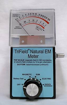 Trifield Natural EM - detects DC EMFs - great for paranormal research & science