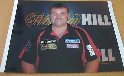Autogramm Terry Jenkins PDC Darts hand-signed autograph 11`8inch the bull