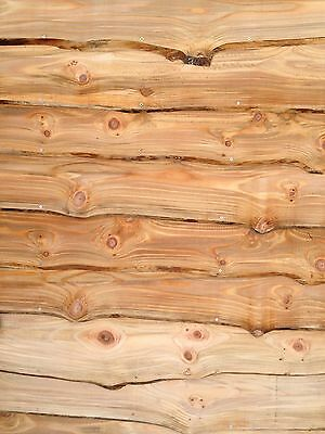 Larch dug fir Cladding waney boards Brand new!!!