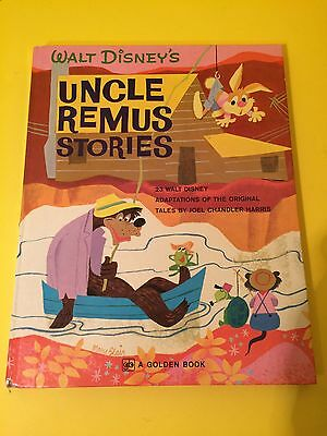 Walt Disney's Uncle Remus Stories A Giant Golden Book in Very Good Condition